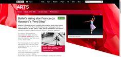 BBC - BBC Arts - Ballet's rising star Francesca Hayward's 'Fred Step'