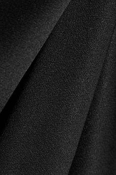 Protagonist - Wrap-effect Satin Midi Dress - Black - US10