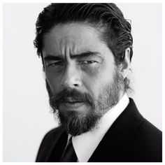 "Benicio del Toro // ""I prefer to apologize than to ask for permission."" by __nitch"