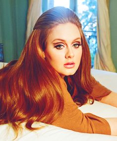 Adele, a beautiful woman. She has that old Hollywood glam Hairstyle For Chubby Face, My Hairstyle, Chic Hairstyles, Vintage Hairstyles, Adele Hairstyles, Gorgeous Hairstyles, Old Hollywood Glam, Hollywood Style, Hairstyles For Round Faces