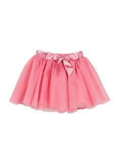 Tulle skirt from Charlie&me girl range. Vintage pink sizes 2 to 10. Style W6CG70005.