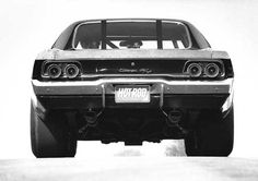 1968 Dodge Charger, stance is everything... :)