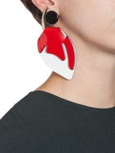 Clip-on earring in various materials