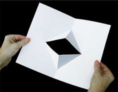 3-D Pop up folds