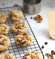Chocolate Peanut Butter Cookies Pretzel Cookies