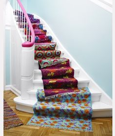 <b>Your staircase might be the last place in your home you'd think to decorate.</b> But after seeing these staircases, you'll realize that a boring staircase is an opportunity squandered.