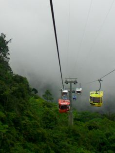 The Genting Highlands, Malaysia - beautiful highlands with casino resorts and an amusement park.