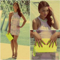 Neon Pop - Sponsored by Koogal (by Jessica Tuong) http://lookbook.nu/look/4551019-Neon-Pop-Sponsored-by-Koogal