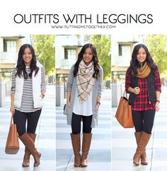 7724cc6ace0 Outfits With Leggings + Non-See Through Leggings! Long Tops For Leggings