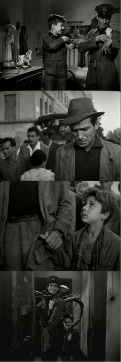 Ladri di biciclette (The Bicycle Thief), 1948   Un classico. Il film ha una fine indimenticabile.