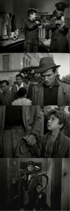 Ladri di biciclette (The Bicycle Thief), 1948   Un classico. Il film ha una fine indimenticabile.
