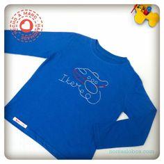 Camisetas originales artesanales para niños de No + Lobos http://www.minimoda.es