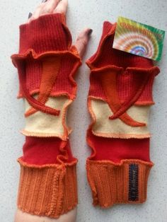 Crazy Katwise style Armwarmers / polswarmers No door crazyknittens, €9.95