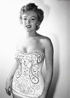 Marilyn Monroe photographed by