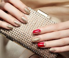 Crystal nail stickers