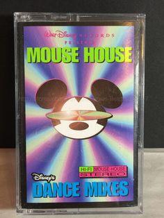 1996 Walt Disney Mouse House Disney's Dance Mixes Cassette Tape   eBay
