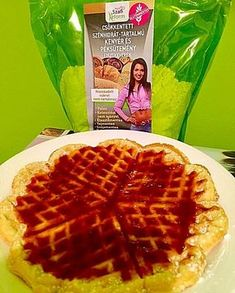Éhezésmentes karcsúság Szafival - Paleo gofri Waffles, Breakfast, Food, Morning Coffee, Waffle, Meals, Yemek, Eten