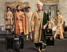 Custom made Luxury Sherwanis ( Sherwani For Men Wedding, Sherwani Groom, Mens Sherwani, Wedding Men, Groom Wedding Dress, Groom Dress, Men Dress, Komplette Outfits, Bridal Outfits