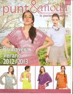 Butterfly Creaciones: revista punto&moda 112