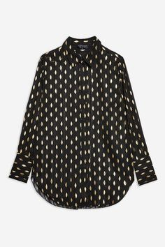 Gold Leaf Shirt - All Dressed Up - Clothing Asos, Topshop, Shirt Blouses, T Shirt, Gold Leaf, Polka Dot Top, Style Guides, Fashion Brands, Clothes For Women