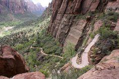 Angels Landing ~ Zion Canyon, Utah