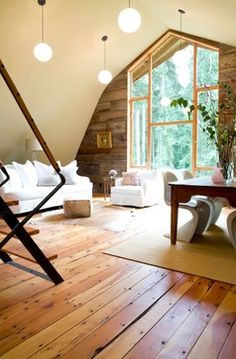 Barn Conversion - contemporary - living room - seattle - SHED Architecture & Design