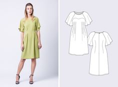 Mono Ansa dress | What Katie Sews