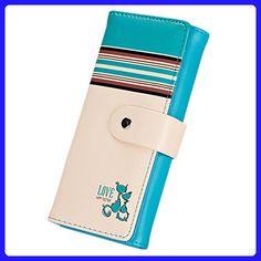 Gotoole Women Cats Print Long Clutch Faux Leather Wallet Purse Card Holder - Wallets (*Amazon Partner-Link)