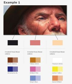 Tonal progression - colour 1: