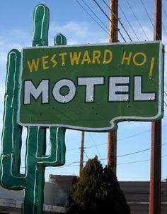 Westward Ho Motel,  Central Ave, Historic Route 66, Albuquerque, NM, built 1948
