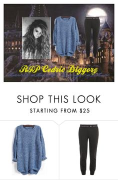 """R.I.P Cedric"" by allybali ❤ liked on Polyvore featuring adidas"