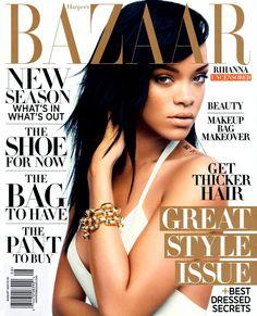 Harper's Bazaar Août 2012 - Rihanna
