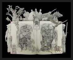 Lord of The Rings... 16x20 One of a Kind Book door artfuliving