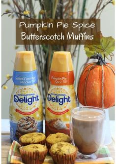 Pumpkin Pie Spice Butterscotch Muffins AD