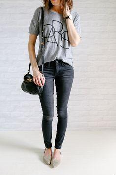 OUTFIT DEL DÍA: Grey blouse outfit - Look con blusa gris