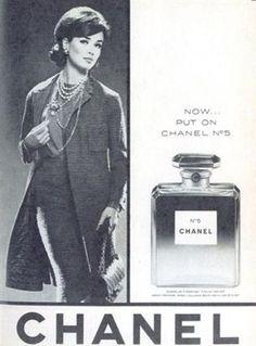 Jacket. Vintage Chanel Ads