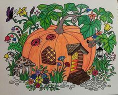 ColorIt Blissful Scenes Colorist: Lisa Popovich #adultcoloring #coloringforadults #adultcoloringpages #scenes