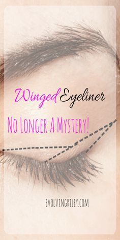 """?This post contains affiliate links. Thank you for supporting Evolvingriley.com"""" Eyeliner was a mystery to me for a long time. I had serious eyeliner envy! when I got my guts together to try winger eyeliner it was a disaster! And it was a lot of trial and error! I couldn't quite grasp the concept of … … Continue reading →"""