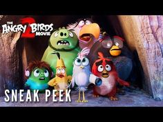 The flightless angry birds and the scheming green piggies take their beef to the next level in The Angry Birds Movie When a new threat emerges that puts both Bird and Pig Island in danger Cartoon Movies, Hd Movies, Horror Movies, Movies Free, Movies Online, Angry Birds 2 Movie, Sony Pictures Entertainment, Flightless Bird, Hilario