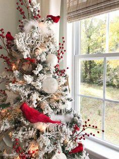 Christmas   Red #christmastree
