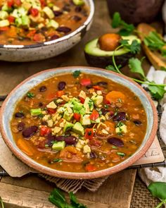 Whole Food Recipes, Vegan Recipes, Snack Recipes, Stuffed Jalapeno Peppers, Smoked Paprika, Soups And Stews, Lentils, Vegan Gluten Free, Chili