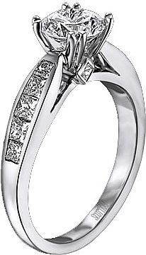 Trendy Diamond Rings : Kay Jewelers Engagement Ring Princess Cut Rings And Prices 34