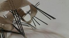 Manuel Wandl 2016 Woven object Weaving, Objects, Loom Weaving, Crocheting, Knitting, Hand Spinning, Soil Texture, Stricken, Loom