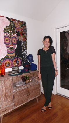 Top and pants by random no-name Parisian brand, Gianvito Rossi sandals.