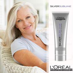 #SilverSublime Exposez la beauté des cheveux gris ou blancs avec ce shampooing éclat. Le Gloss Protect System, enrichi en acides aminés et agent déjaunisseur, neutralise le jaunissement et apporte éclat et brillance aux cheveux gris ou blancs.