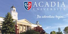 #WelcomeHome new #AcadiaU students. Let the adventure begin! #AUWelcomeWeek2016 http://qoo.ly/aptbp
