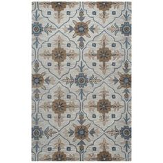 Rizzy Home Taupe Rug In Wool 5'x8', Gray
