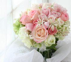 ブーケ 高松へ   単発プリザレッスン締切のお知らせ : 一会 ウエディングの花