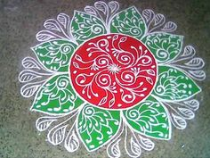 new rangoli designs with dots