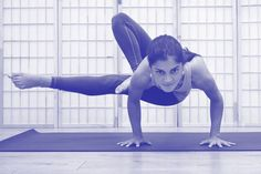 Learn how to master the most difficult yoga poses!